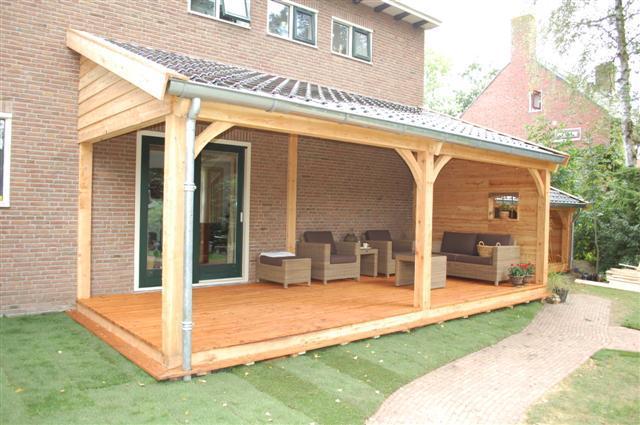Houten veranda maken werkspot for Prijs veranda