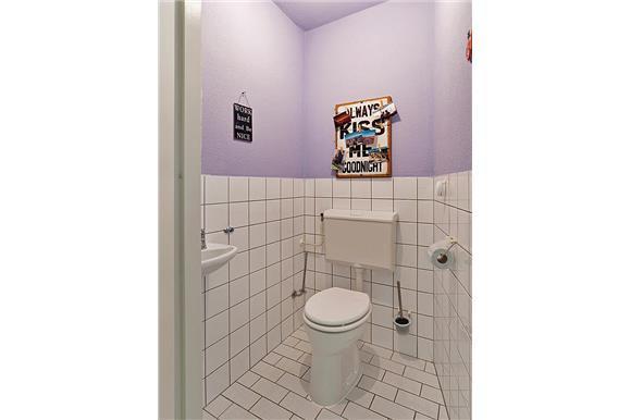 Afvoer verplaatsen staand toilet voor hangend toilet werkspot