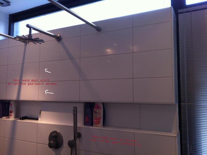 Voorzetwanden vervangen badkamer - Werkspot
