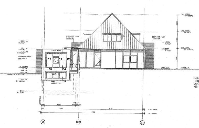 Berekening tekening tbv draagmuurdoorbraak werkspot for Huis inrichten op schaal