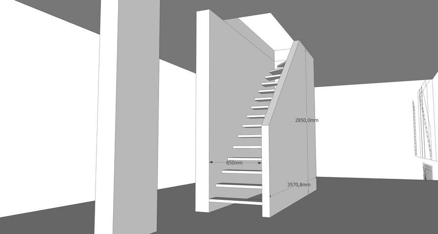 Nieuwe dichte houten trap met bovenkwart werkspot for Dichte trap maken