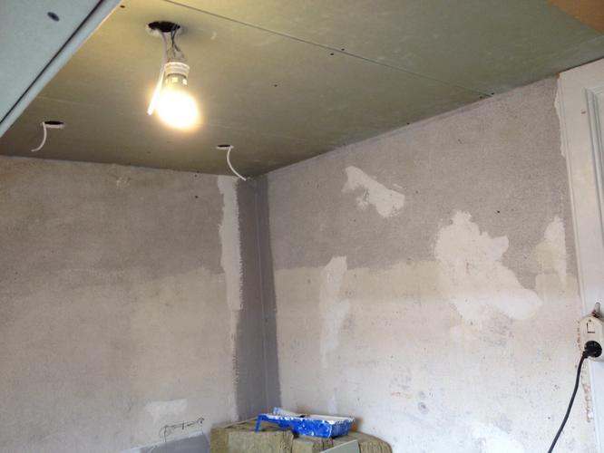 Badkamer stucen glad met watervaste stuc ongeveer m werkspot