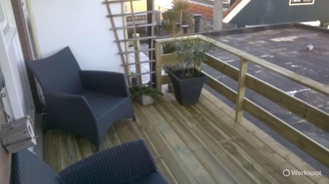 Vloer Voor Balkon : Steiger vloer plaatsen op een balkon dakterras werkspot