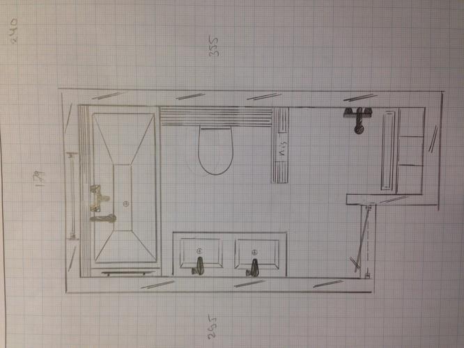 Compleet nieuwe badkamer plaatsen in bestaande woning werkspot