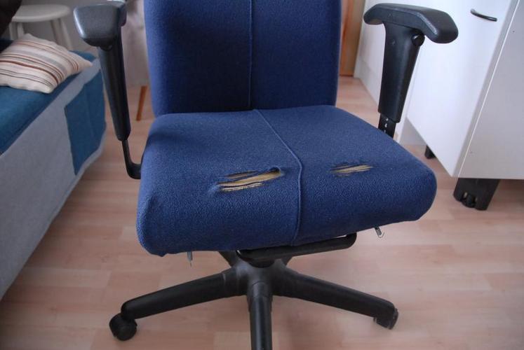 Bureau Stoel Ikea : Herstoffering ikea bureaustoel werkspot