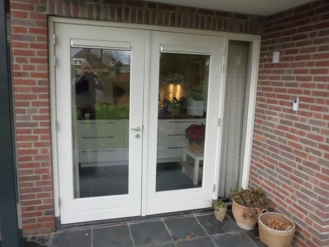 Favoriete Garagedeur vervangen door pui met 2 deuren. - Werkspot &PV83