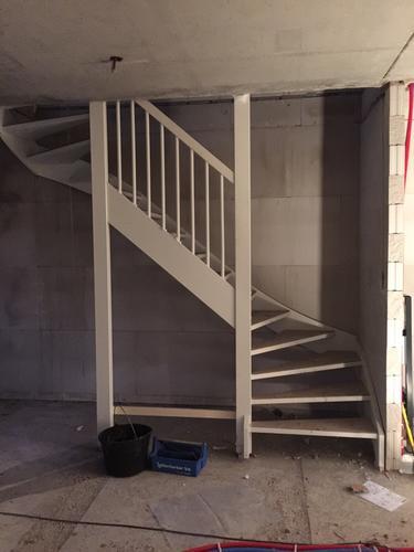 Open trap woonkamer dichtmaken en kast maken - Werkspot