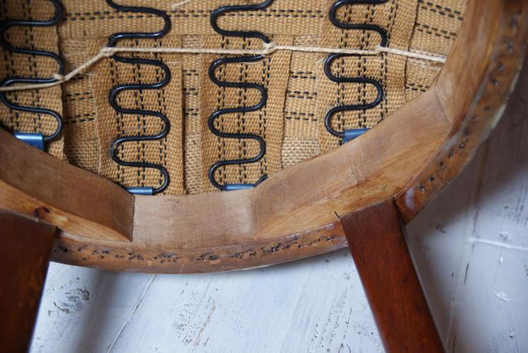 Antieke stoelen stofferen werkspot