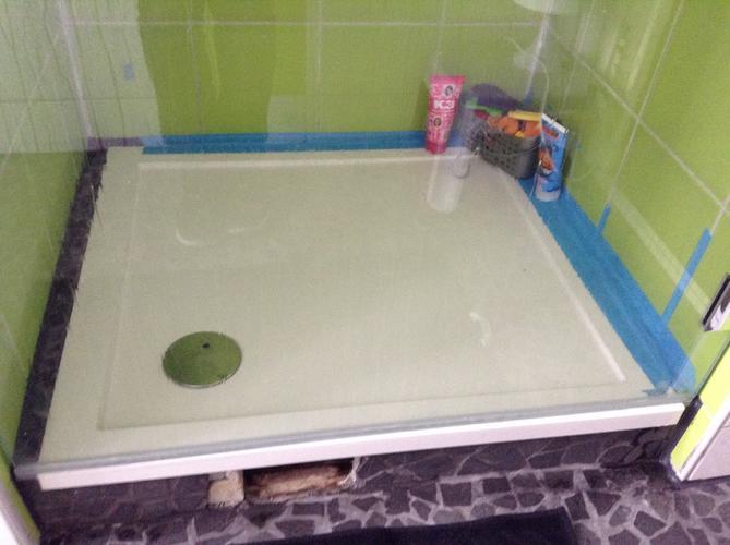 Waterdicht maken badkamer bouwmaterialen for Badkamer zelf maken