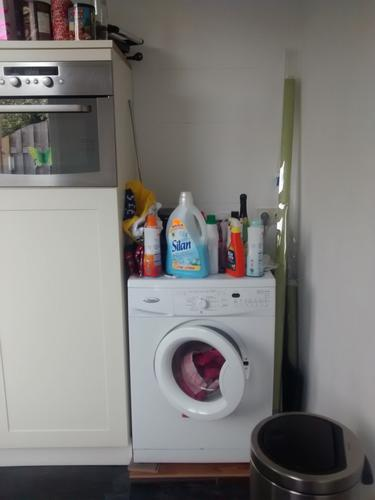 Verbazingwekkend Keukenkast' voor wasmachine - Werkspot AR-74