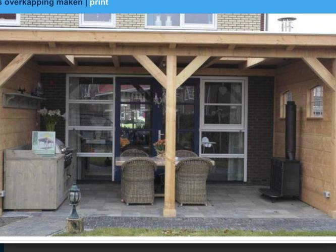 Veranda overkapping over terras direct aan huis werkspot - Terras van huis ...