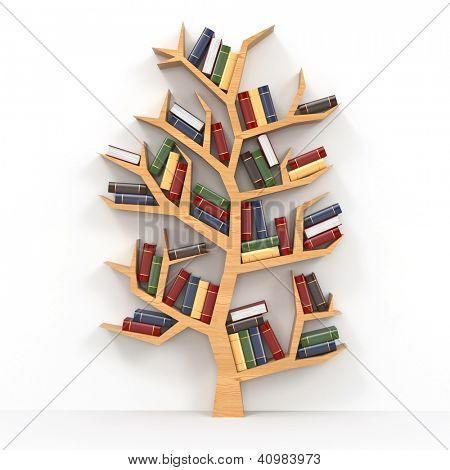 boom boekenkast