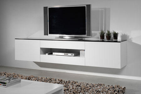 Hoogglans tv dressoir werkspot for Tv dressoir hoogglans wit