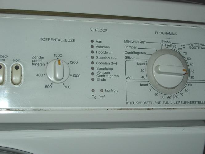Wasmachine Blijft Hangen In Programma Werkspot