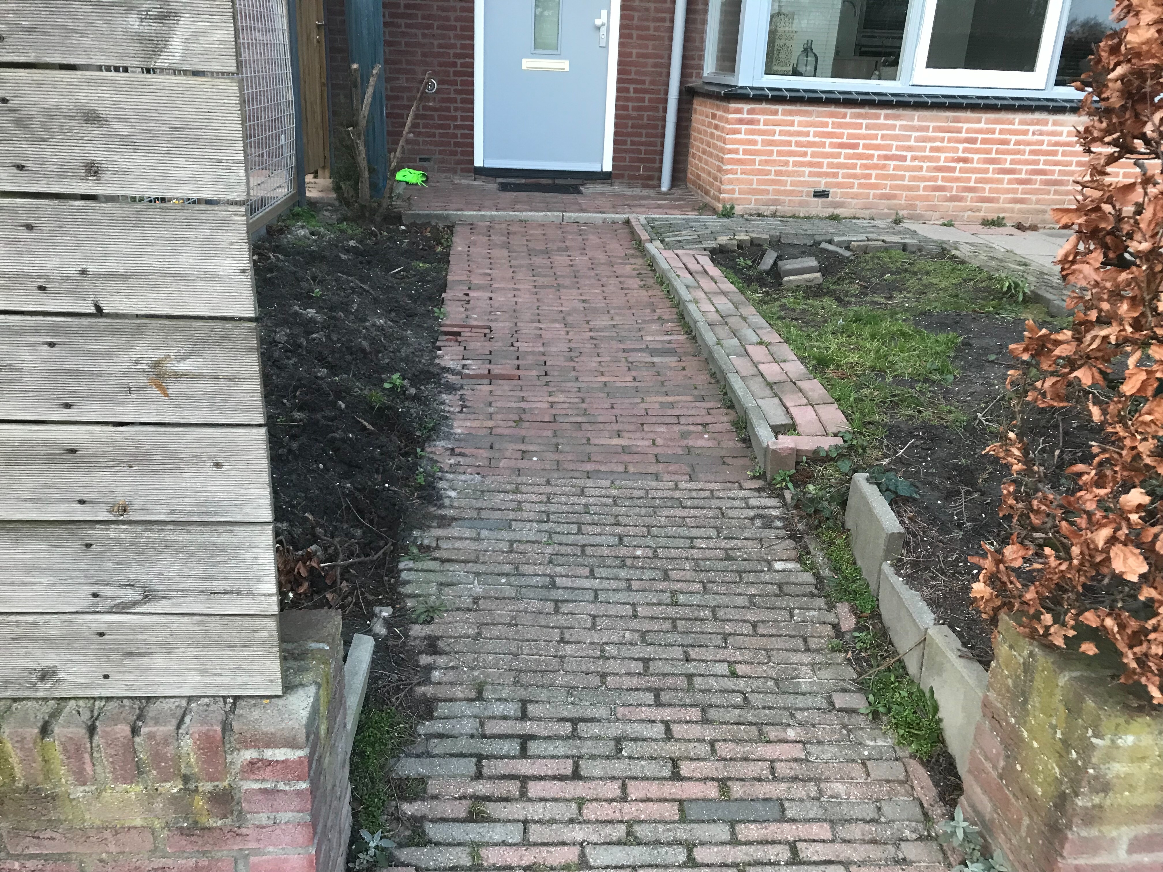 Tuin aanleggen geen ontwerptekeningen aanwezig m2 for Trap tuin aanleggen