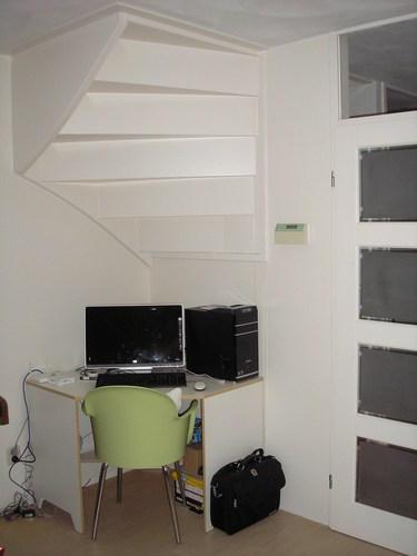Trapkast maken in woonkamer - Werkspot