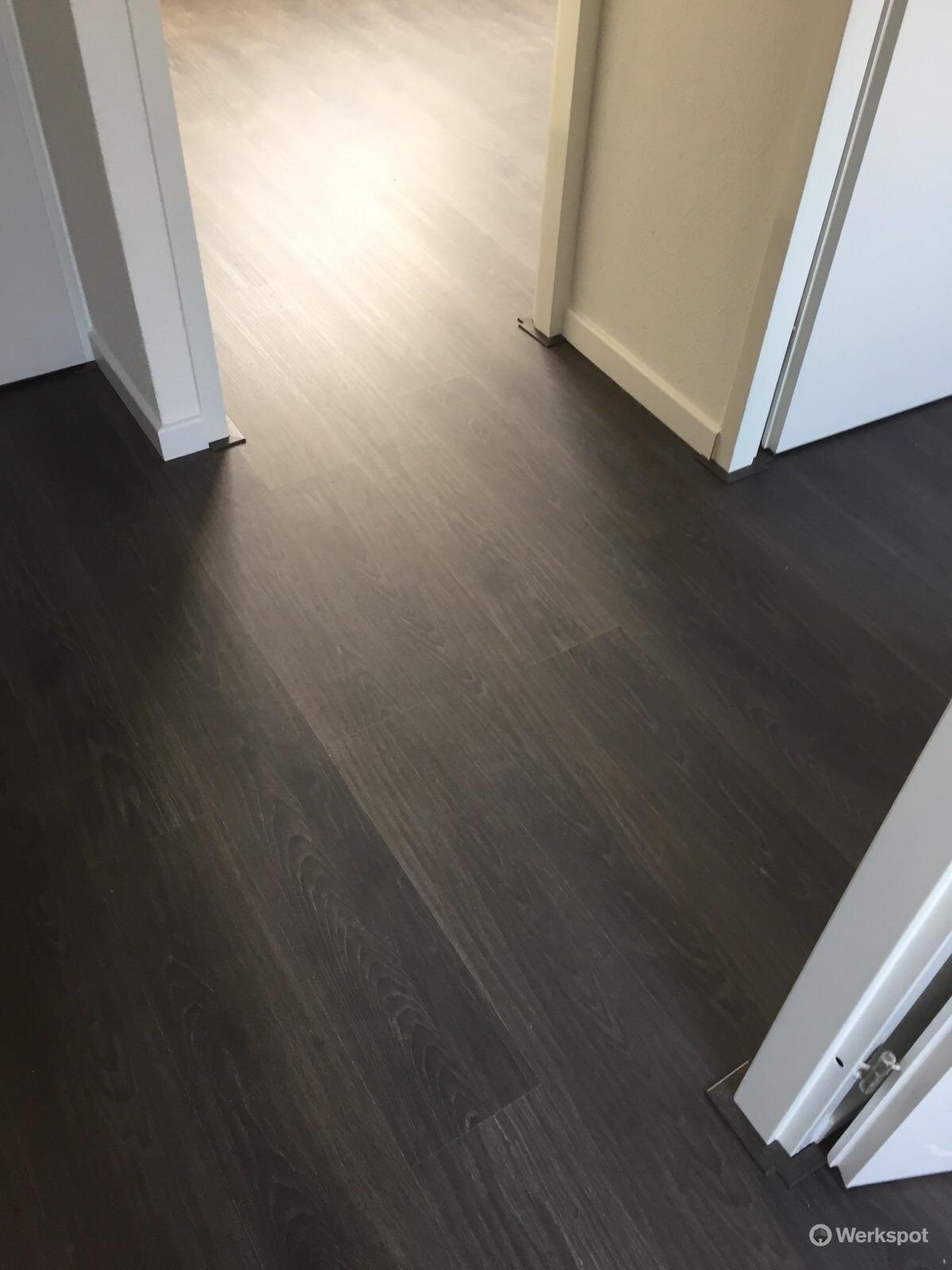 laminaat ondervloer plinten leggen werkspot