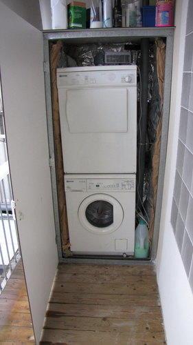 Balkon Kast Maken Voor Cv Installatie En Wasmachine Werkspot