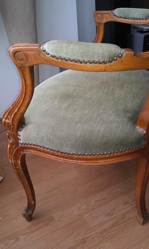 Magnifiek Opnieuw bekleden Queen Ann stoelen - Werkspot &QY88