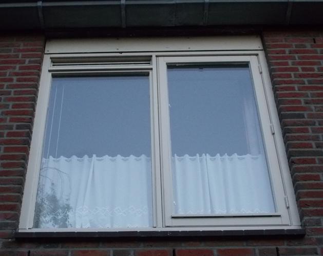 schilderen doucheraam buitenkant en slaapkamer raam buitenkant, Deco ideeën
