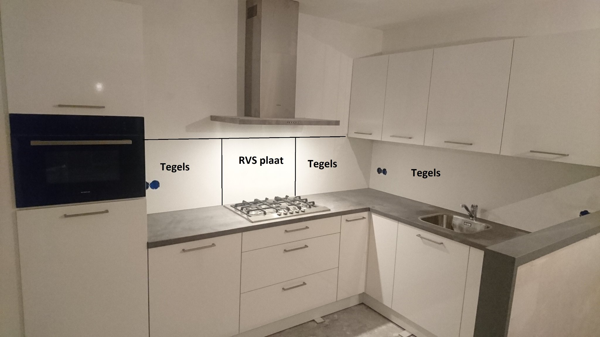 keuken tegels leiden : Tegelzetten Keuken Werkspot