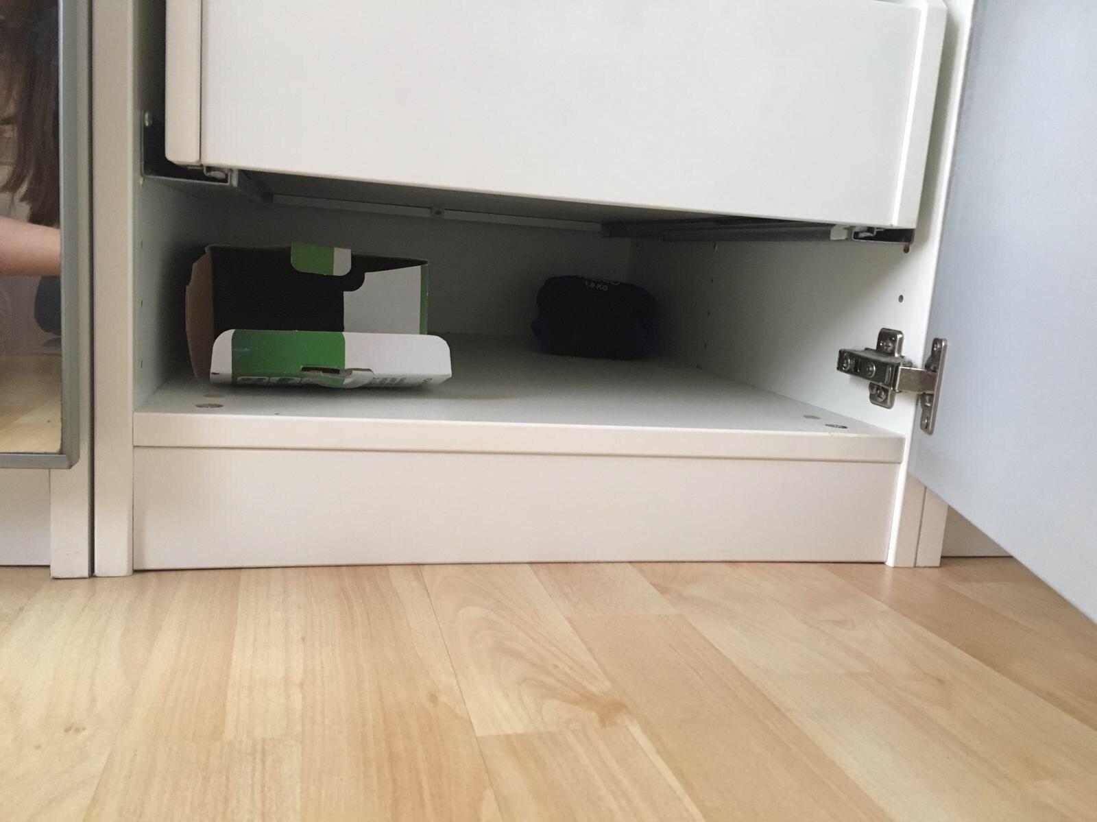 Plinten Staanders Van Ikea Kast Afzagen Werkspot
