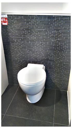 Nieuwbouw huis pijnacker badkamer wc hal keuken vloer werkspot - Wc mozaiek ...