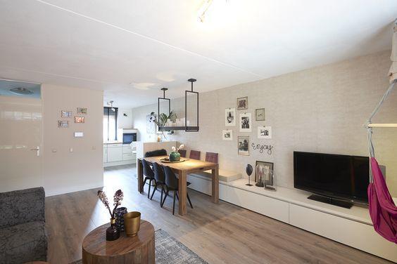 Tv meubel vaste bank werkspot for Woning meubels