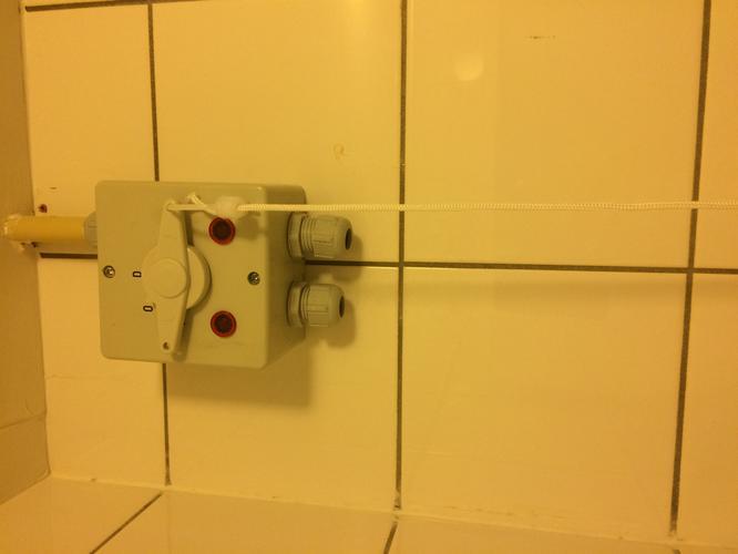Aansluiten wasmachine op trekschakelaar in de badkamer - Werkspot