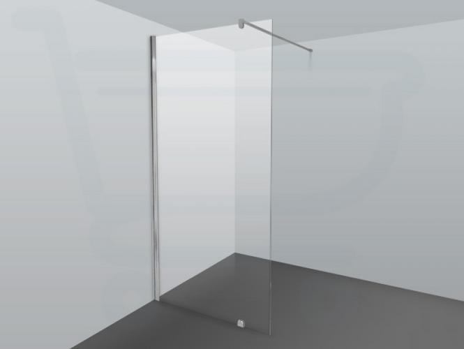 Glazen douchewand laten plaatsen werkspot