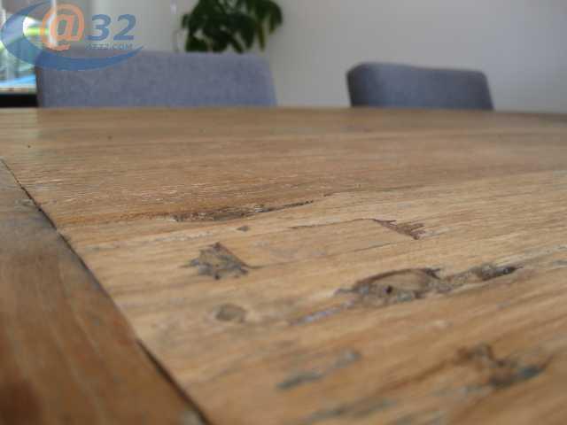 Houten Tafel Behandelen : Teak houten tafel schuren en behandelen werkspot