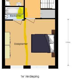 Van 1 badkamer en slaapkamer 2 slaapkamers maken - Werkspot