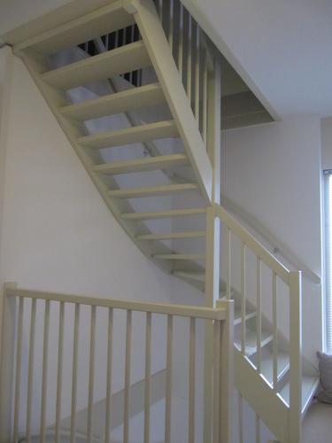 Wonderlijk Vaste trap naar zolder + maken gat in beton en dichten gat WJ-05