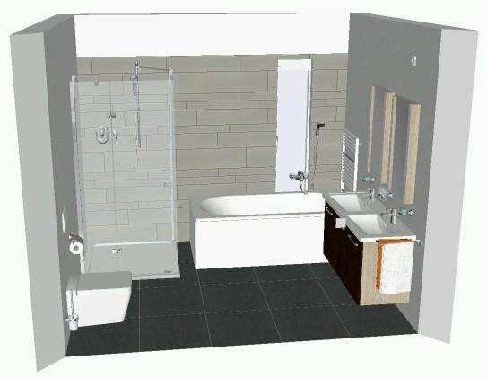 Technische tekening badkamer maken werkspot for Tekening badkamer maken