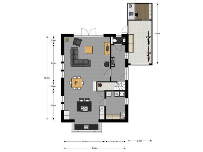 latex spuiten muren en plafond woonkamer en keuken (totaal ca, Deco ideeën