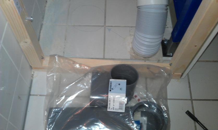 Platte Afvoerbuis Toilet : Infrezen platte holle afvoer buis geberet werkspot