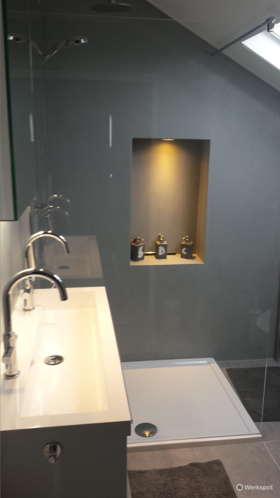 badkamer verbouwen 2 x 2 meter werkspot