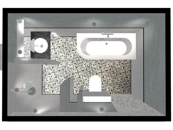 Nieuwe badkamer 2 x 3 m installeren, sanitair en tegels al in bezit ...