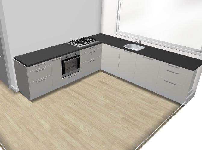 Ikea keuken 3 x 3 meter werkspot for Keuken offerte vergelijken
