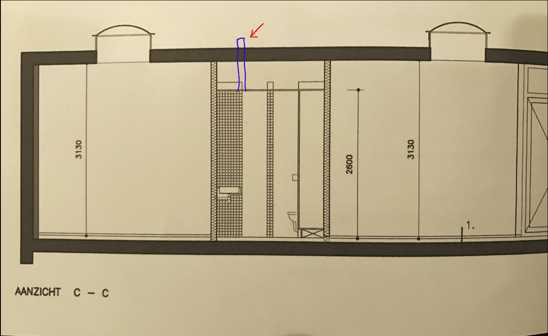 Badkamer Ventilatie Dakdoorvoer : Luchtafvoer badkamer werkspot