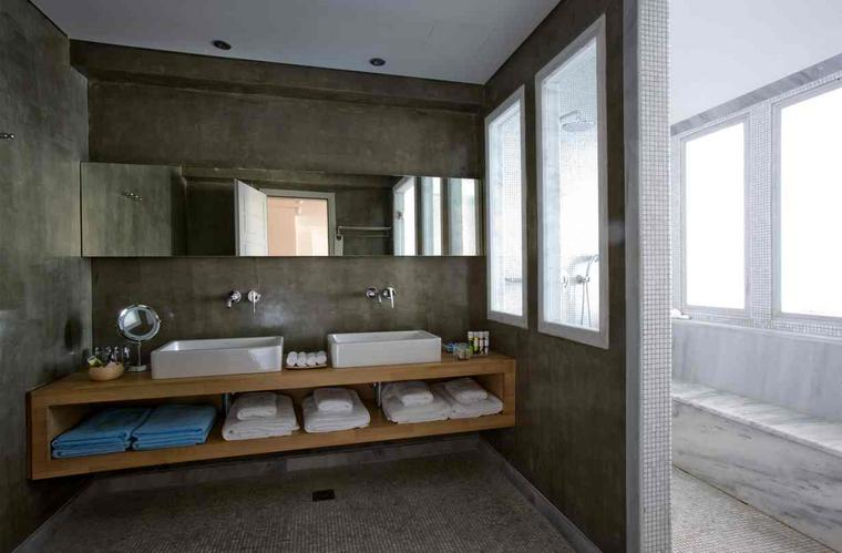 Houten badkamermeubels werkspot