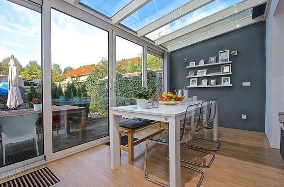 woonkamer uitbouw 3 meter + een verdieping (woonlagen) aanbouw 8.6 ...