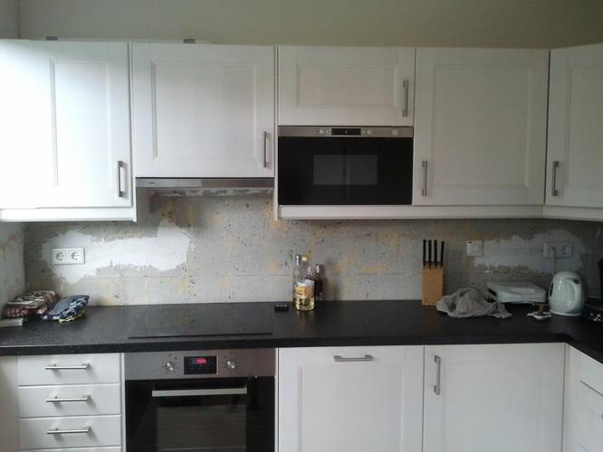 Tegels Wand Keuken : Wandtegels plaatsen in keuken werkspot