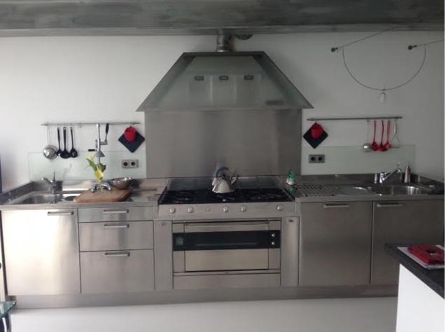 Marktplaats Keuken Compleet : Arclinea italia rvs keuken apparatenwand plaatsen werkspot
