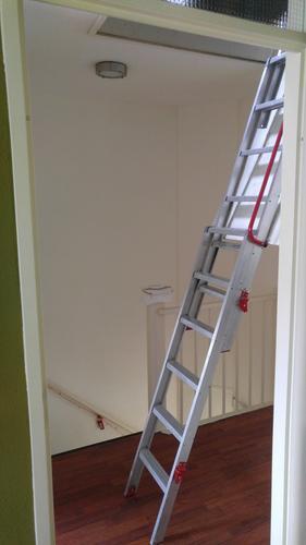 Spiksplinternieuw Dakkapel + vaste trap naar zolder in plaats van vlizotrap - Werkspot CV-33
