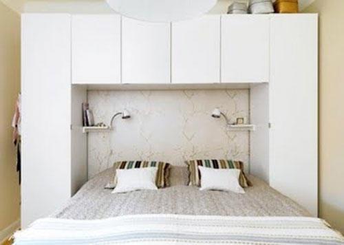 Bed Met Kast : ≥ compleet dubbel bed met nachtkastjes en kleding kast