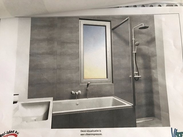badkamer+toilet plaatsen (incl tegels/spotjes/inbouw kranen) - Werkspot