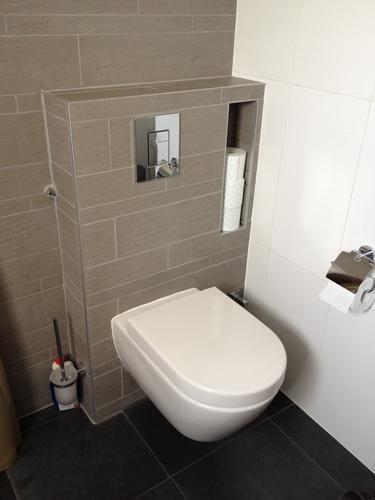 Inbouw Toilet Plaatsen Incl Betegelen Toilet