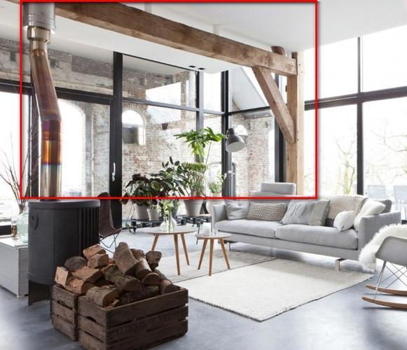 Eiken gebinten balken aanbrengen in een nieuwbouw woning werkspot - Balk decoratie ...