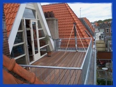 Dakterras Of Balkon : Aanleg inpandig dakterras cq balkon op zolder e etage van